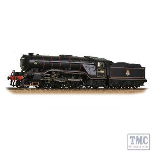 35-201 Bachmann OO Gauge LNER V2 60845 BR Lined Black (Early Emblem)