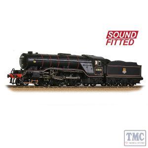 35-201SF Bachmann OO Gauge LNER V2 60845 BR Lined Black (Early Emblem)