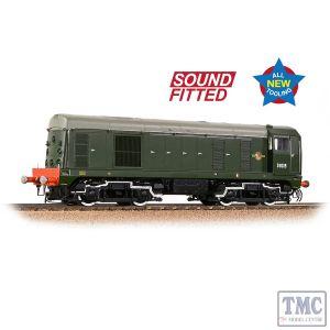 35-351SF Branchline OO Gauge Class 20/0 Disc Headcode D8015 BR Green (Late Crest)