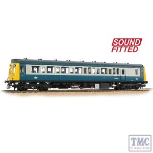 35-526SF Branchline OO Gauge Class 121 Single-Car DMU BR Blue & Grey