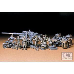 35017 Tamiya 1:35 Scale 88mm Gun Flak 36/37