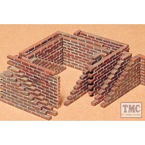 35028 Tamiya 1:35 Scale Brick Walls