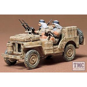 35033 Tamiya 1:35 Scale British SAS Jeep