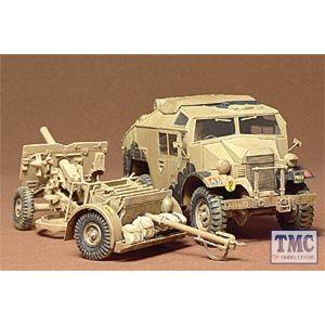 35044 Tamiya 1:35 Scale British 25 pounder & Quad Tractor