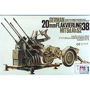 35091 Tamiya 1:35 Scale German 2cm Flakvierling 38
