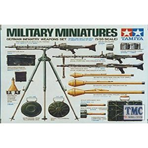 35111 Tamiya 1:35 Scale German Infantry Weapons