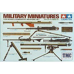 35121 Tamiya 1:35 Scale U.S.Infantry Weapons