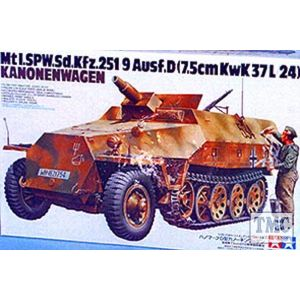 35147 Tamiya 1:35 Scale SdKfz.251/9 Kanonenwagen