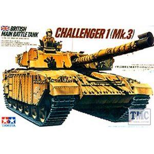 35154 Tamiya 1:35 Scale British Challenger 1 Mk.3
