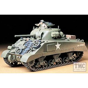 35190 Tamiya 1:35 Scale U.S. M4 Sherman(Ear.Production)