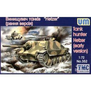 1/72 Tank hunter Hetzer (early version) UM 352 Models kits (Pre owned)