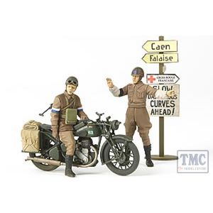 35316 Tamiya 1:35 Scale BSA M20 Motorcycle w Military Police
