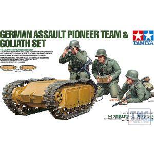 35357 Tamiya 1:35 Scale German Pioneer & Goliath set