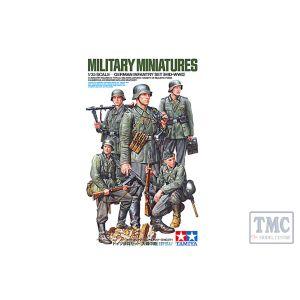 35371 Tamiya 1:35 Scale GERMAN INFANTRY MID WWII
