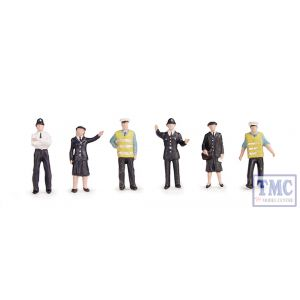 36-041 OO Gauge Scenecraft Police & Security Staff