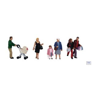 36-046 OO Gauge Scenecraft Shopping Figures