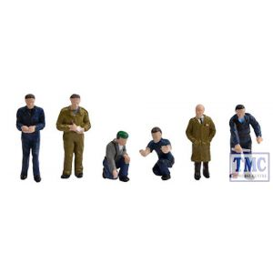 36-403 OO Gauge Scenecraft Factory Workers & Foreman