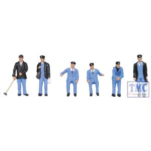 36-407 OO Gauge Scenecraft 1950s Train Crew