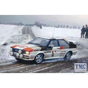 3642 Italeri 1/24 Audi Quattro Rally (Plastic Kit)