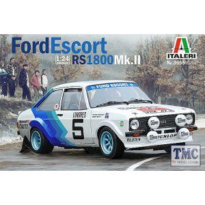3655 Italeri Ford Escort Mk II Rally