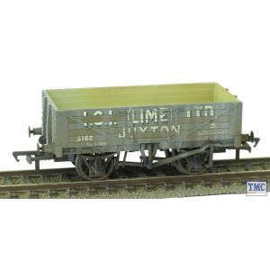 37-040 Bachmann OO Gauge 5 Plank Wagon Steel Floor ICI (Lime) with Load Weathered by TMC