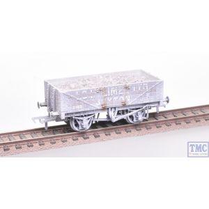 37-040 Bachmann OO Gauge 5 Plank Wagon Steel Fllor I.C.I. (Lime) Ltd. Weathered - with Wagon Load
