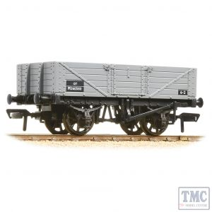 37-061C Bachmann OO Gauge 5 Plank Wagon Wooden Floor BR Grey