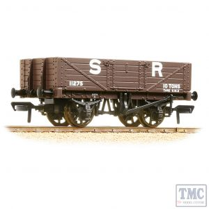 37-067 Bachmann OO Gauge 5 Plank Wagon Wooden Floor SR Brown