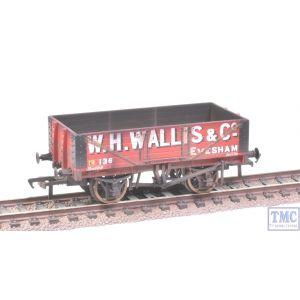 37-072 Bachmann OO Gauge 5 Plank Wagon Wooden Floor W. H. Wallis & Co Weathered by TMC
