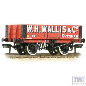 37-072 Bachmann OO Gauge 5 Plank Wagon Wooden Floor W. H. Wallis & Co