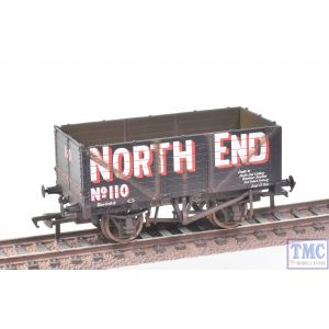 37-085A Bachmann OO Gauge 7 Plank End Door Wagon North End with Deluxe Weathering by TMC