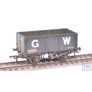 37-087 Bachmann OO Gauge 7 Plank End Door Wagon GWR Grey Weathered by TMC