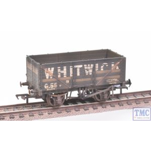 37-092 Bachmann OO Gauge 7 Plank End Door Wagon Whitwick - with Wagon Load Weathered by TMC