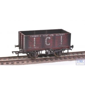 37-115 Bachmann OO Gauge 7 Plank Fixed End Wagon I.C.I. Chance & Hunt Ltd Extra Detail Weathering by TMC