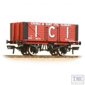 37-115 Bachmann OO Gauge 7 Plank Fixed End Wagon I.C.I. Chance & Hunt Ltd