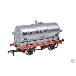 37-659C Bachmann OO Gauge 14T Tank Wagon 'National Mobil' Silver