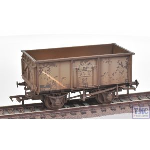 37-253B Bachmann OO Gauge 16 Ton Steel Mineral Wagon BR Grey Weathered