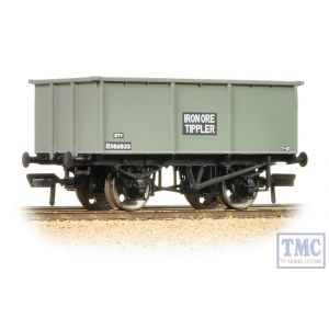 37-275F Bachmann OO Gauge 27 Ton Steel Tippler Wagon BR Grey Iron Ore