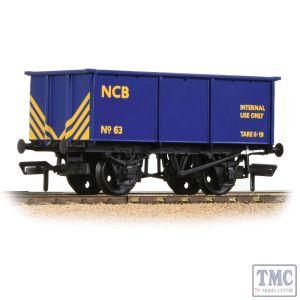 37-281 Branchline OO Gauge BR 27T Steel Tippler NCB Blue