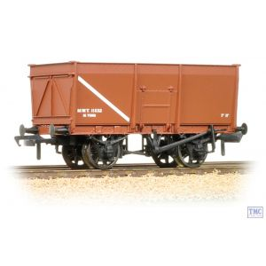 37-426C Bachmann OO Gauge 16 Ton Slope Side Mineral Wagon Pressed Side Door MOT Brown