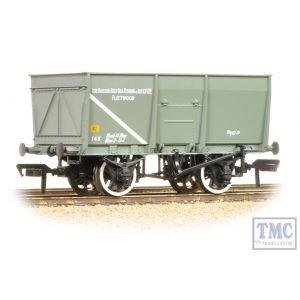 37-452 Bachmann OO Gauge 16 Ton Slope Sided Mineral Wagon 'Boston Deep Sea Fishing ' Weathered by TMC
