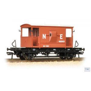 37-529A Bachmann OO Gauge 20 Ton Brake Van LNER Oxide