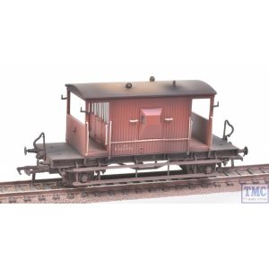 37-529Z Bachmann OO Gauge 20 Ton Ex-LNER Brake Van BR Bauxite *TMC Limited Edition* Weathered by TMC
