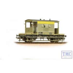 37-533 Bachmann OO Gauge 20 Ton ZTO Brake Van BR Grey & Yellow (Dutch) Weathered