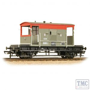37-535C Bachmann OO Gauge 20 Ton Brake Van BR RailFreight