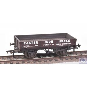 37-934 Bachmann OO Gauge 3 Plank Wagon 'Eastern Iron Mines'