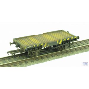 37-980V Bachmann OO Gauge Shunters Running Wagon Conflat A Match Truck *TMC Exclusive* Weathered by TMC