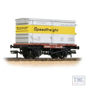 37-991 Bachmann OO Gauge Conflat with BA Vented Container 'Speedfreight'