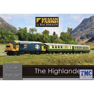 370-048 Graham Farish N Gauge The Highlander Digital Train Set