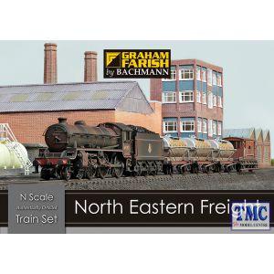 370-090 Graham Farish N Gauge North Eastern Freight Train Set